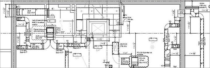 Mep Hvac 2d Drafting Services  Mep Cad Drawings