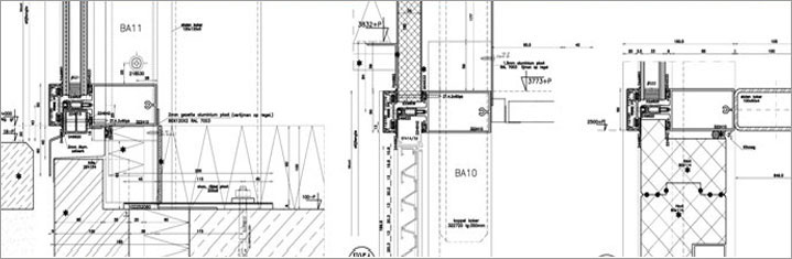 Curtain Wall Detailing Facade Detailing Structural