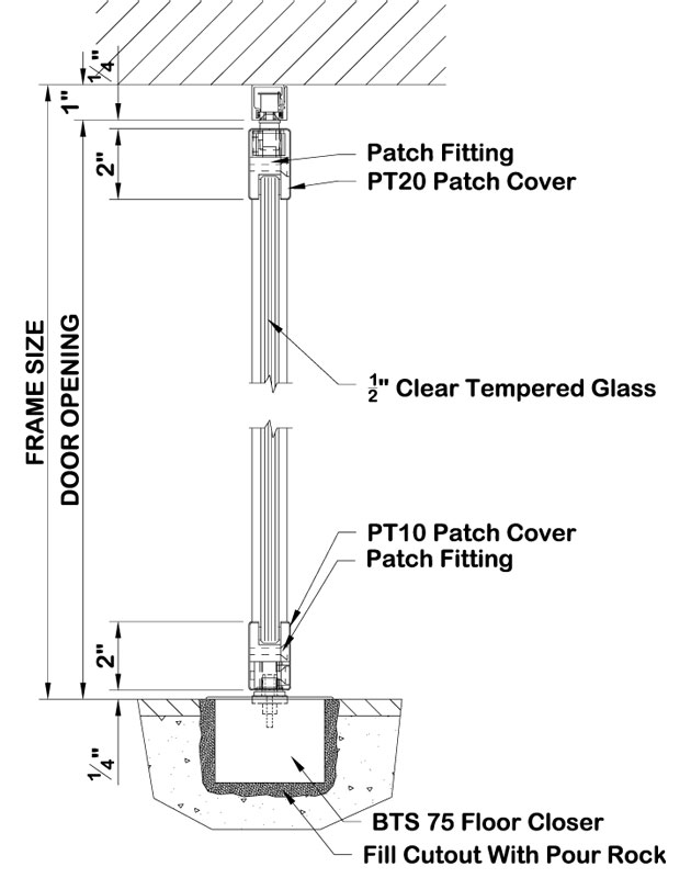 Spider Glazing Skylight Detailing Patch Fitting