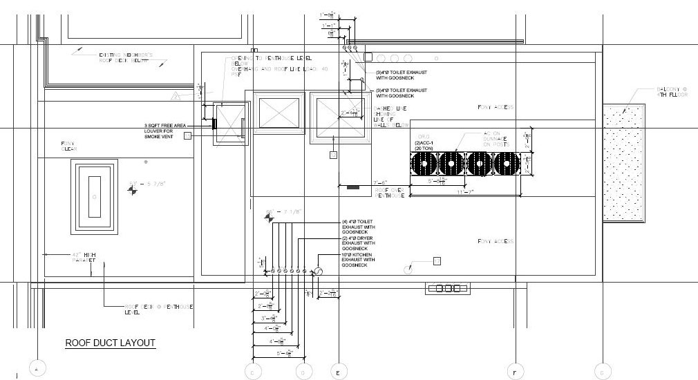 mep hvac 2d drafting services  mep cad drawings