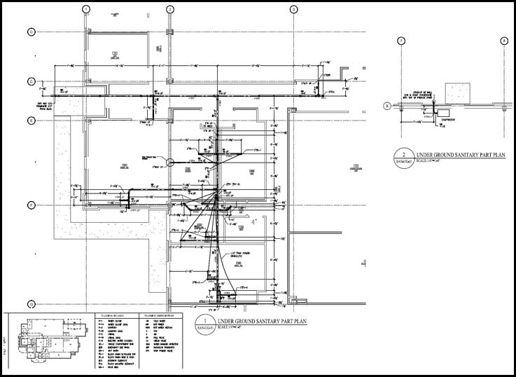 pipe spool drafting services  mep hvac spool drawing