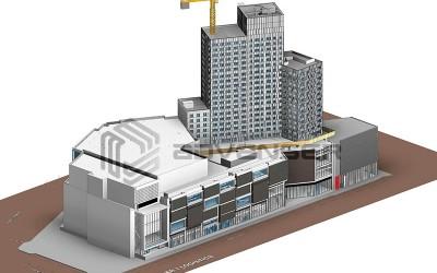 Architecture BIm model