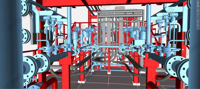 Mep Engineering Service : Samples mep bim d modeling coordination