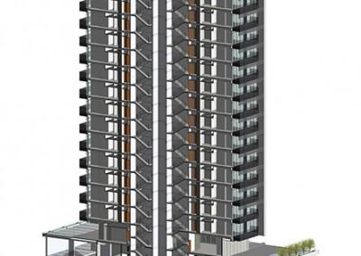 Architectural bim model