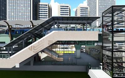 Structural BIM Infrastructure model