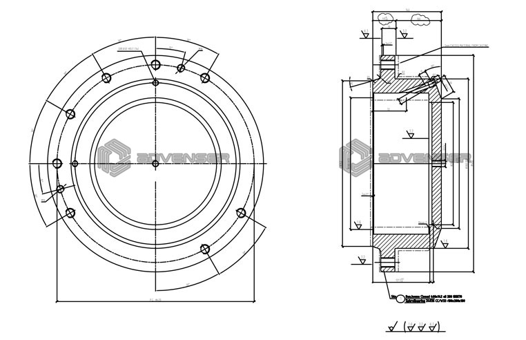 Mechanical Shop Fabrication Drawing