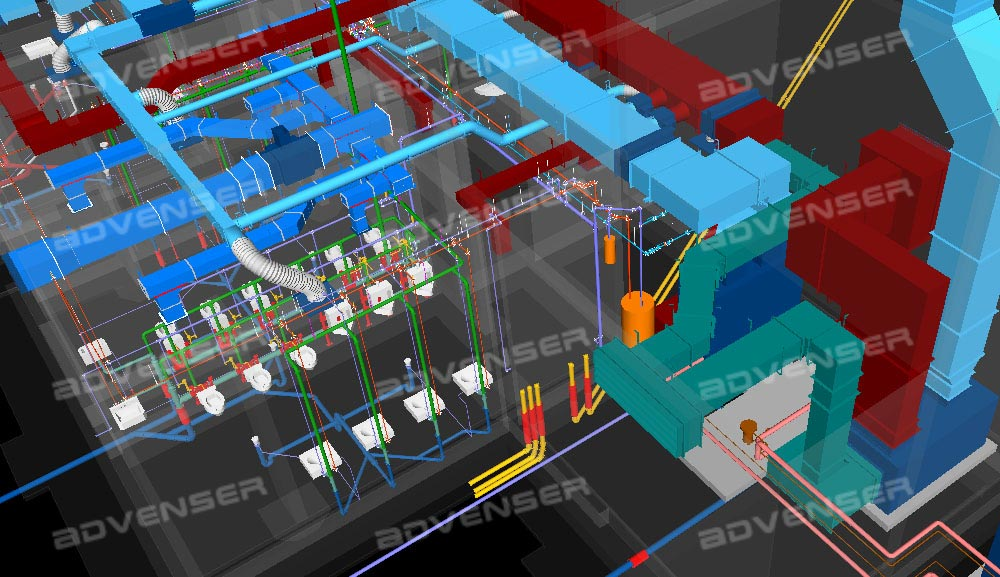 Mep Engineering Service : Mep services cad and bim