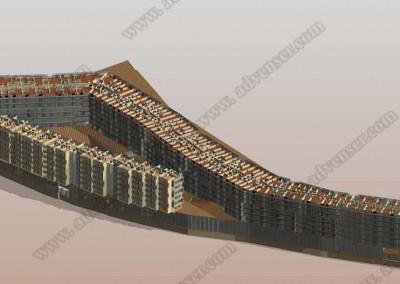Architectural BIM model Revit