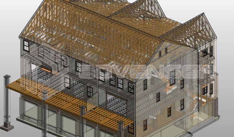 Samples - Architectural BIM Modeling, Revit BIM, 3D modeling