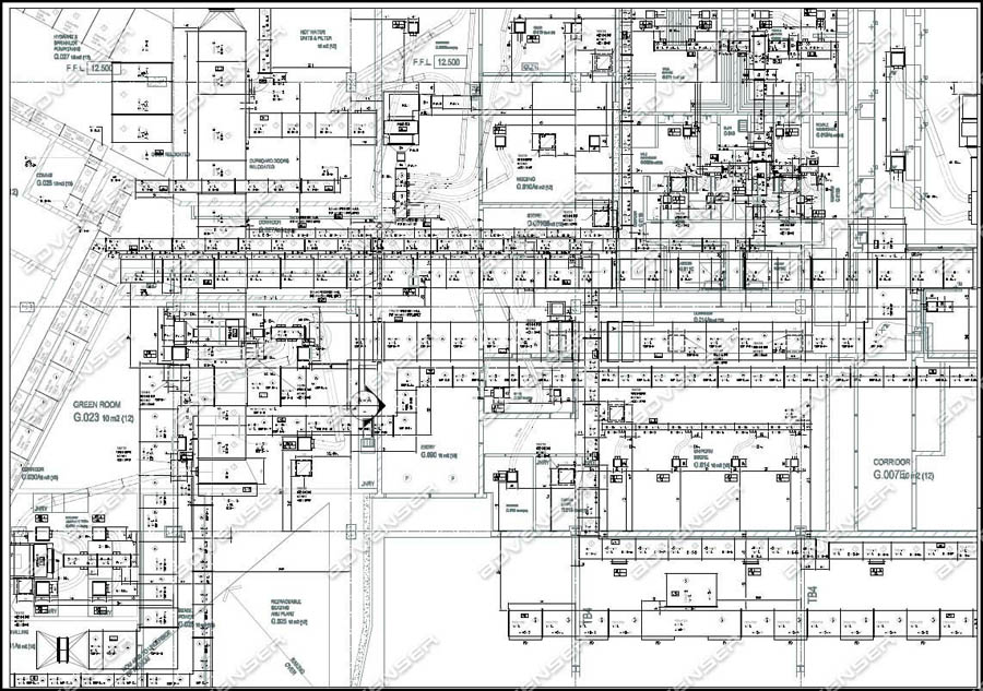 MEP 2D Drafting - Mechanical, Electrical, Plumbing, HVAC