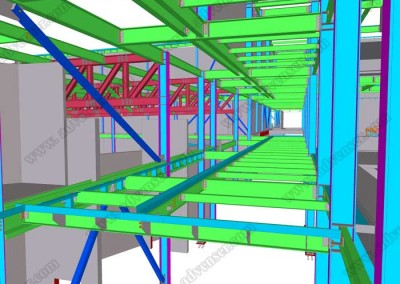 Tekla steel 3D modeling