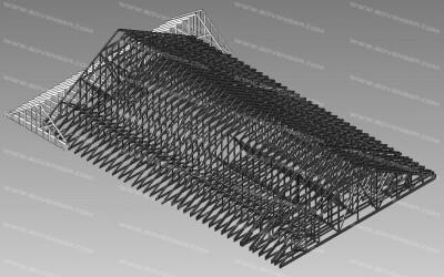 structural 3D model