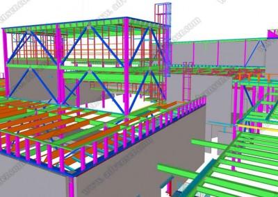 Steel 3D modeling