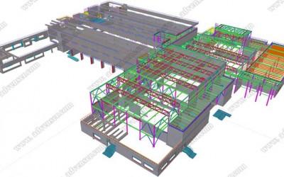 tekla-steel-modeling