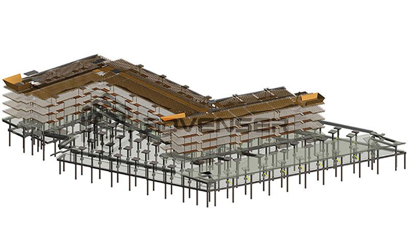 Revit BIM model - Architecture