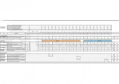 BIM Model Audit Schedule