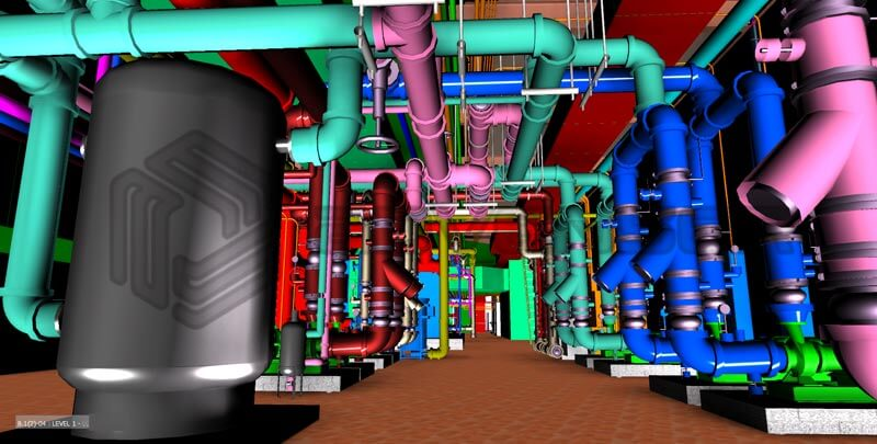 Mechanical room modeling
