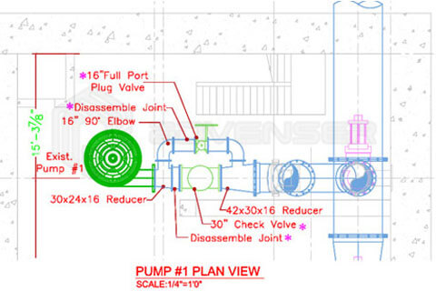 MEP As-built drawing