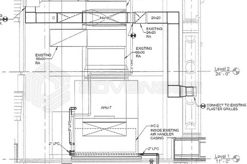 MEP As-built Drafting