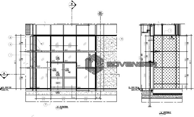 Facade drafting services