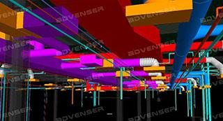 MEP 3D modeling services