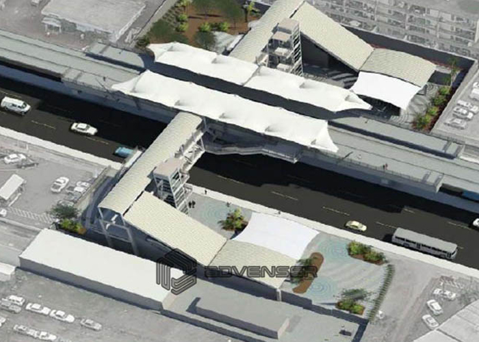 Transportation modeling of  US Metro station using BIM