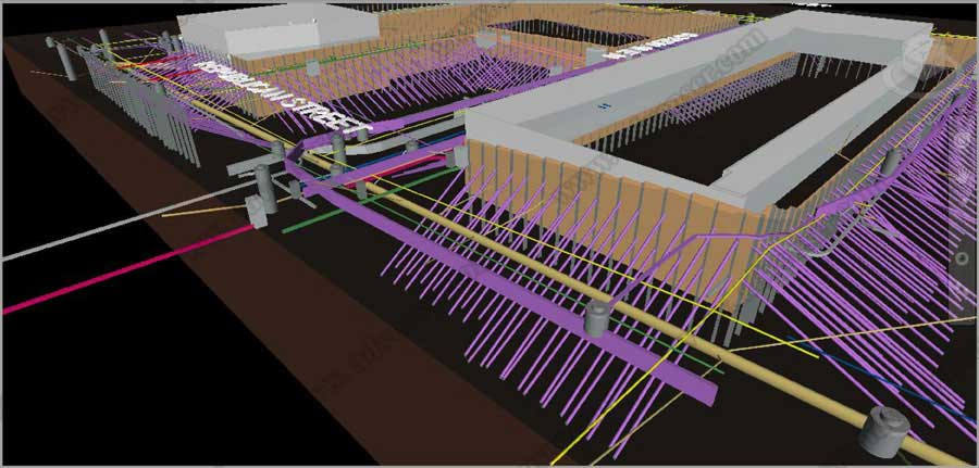 site Underground modeling