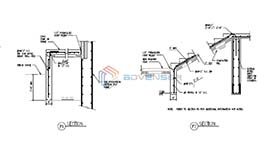 Structural shop drawing