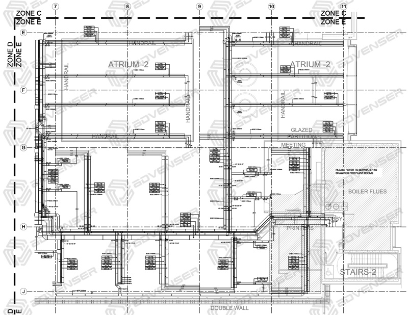 [SCHEMATICS_48YU]  MEP Drafting Services - Mechanical, Electrical, Plumbing, HVAC | Architectural Engineering Schematics |  | Advenser