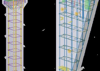 Beam & column detailing