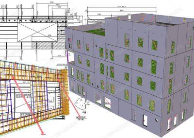 Wall panel detailing