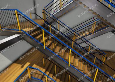 Stair modeling