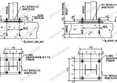 Steel shop drawing