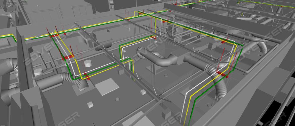 Medical gas system model