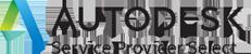 Autodesk Service Provider Select logo