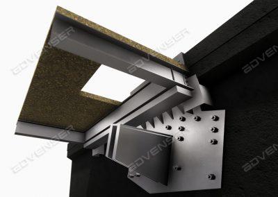 Structural steel bracket