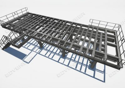 structural steel platforms