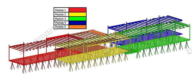 Modular BIM Modeling