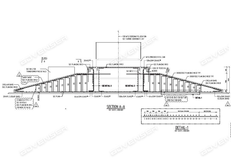 Beam assembly drawing