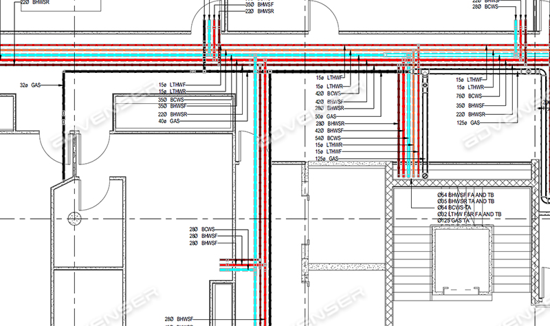 MEP/HVAC Shop Drawings Services: ductwork, plumbing, piping & more | Hvac Drawing Standards |  | Advenser