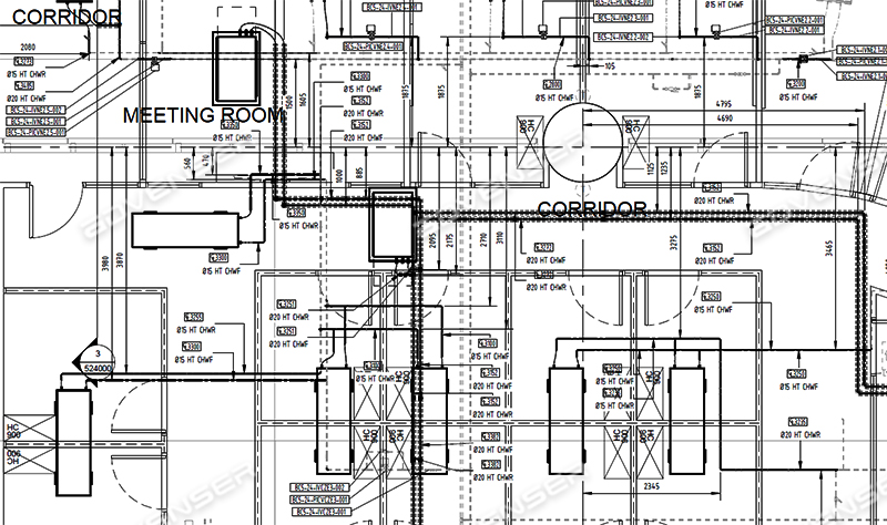Plumbing As-built Drawings