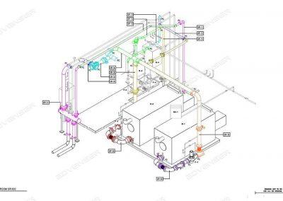 Boiler room shop drawing