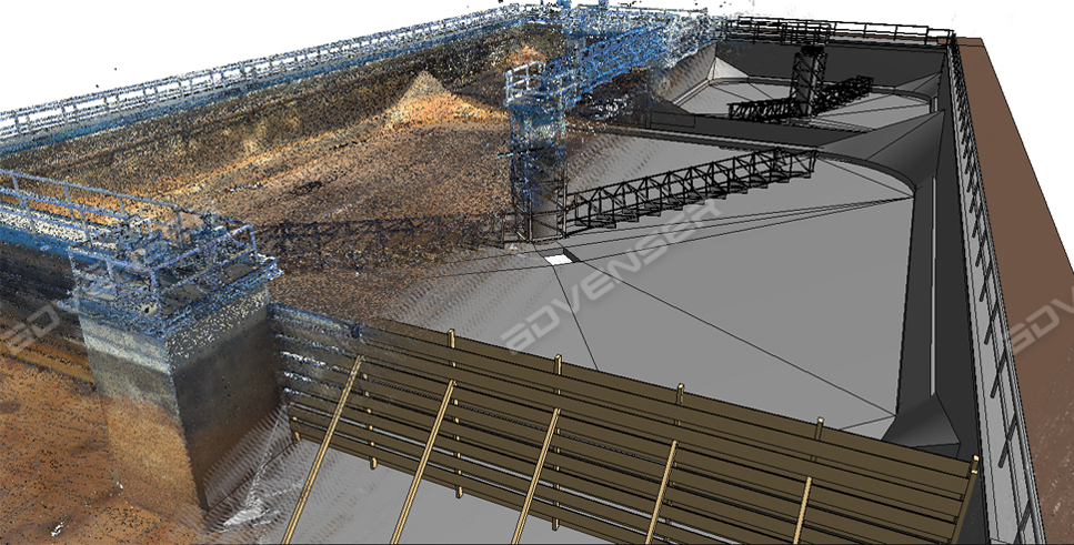 Point cloud to BIM Modeling Conversion