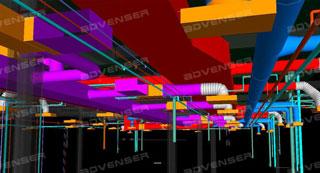 HVAC 3D BIM Design Services